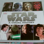 THE STAR WARS A VISUAL HISTORY BIG EXPENSIVE HARDBACK BOOK GREAT READ RRP £30.00